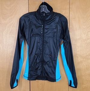 NikeFIT black and teal jacket with vents